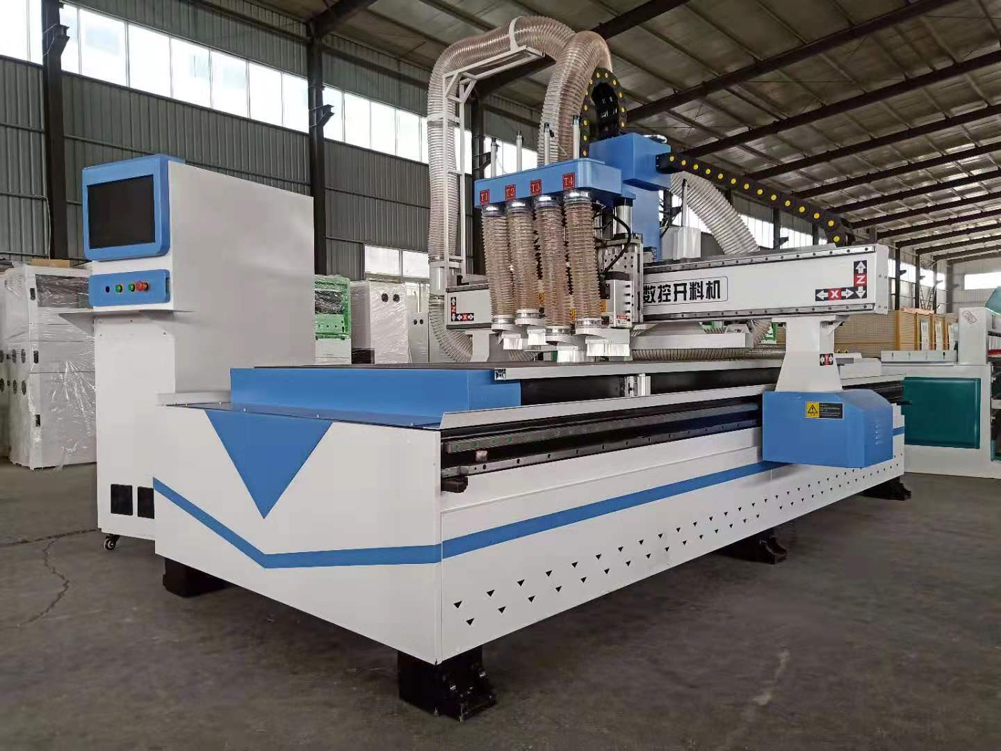 Multi Head 1325 CNC Atc with Good Quality 1325 Atc Auto Tool Change CNC Router