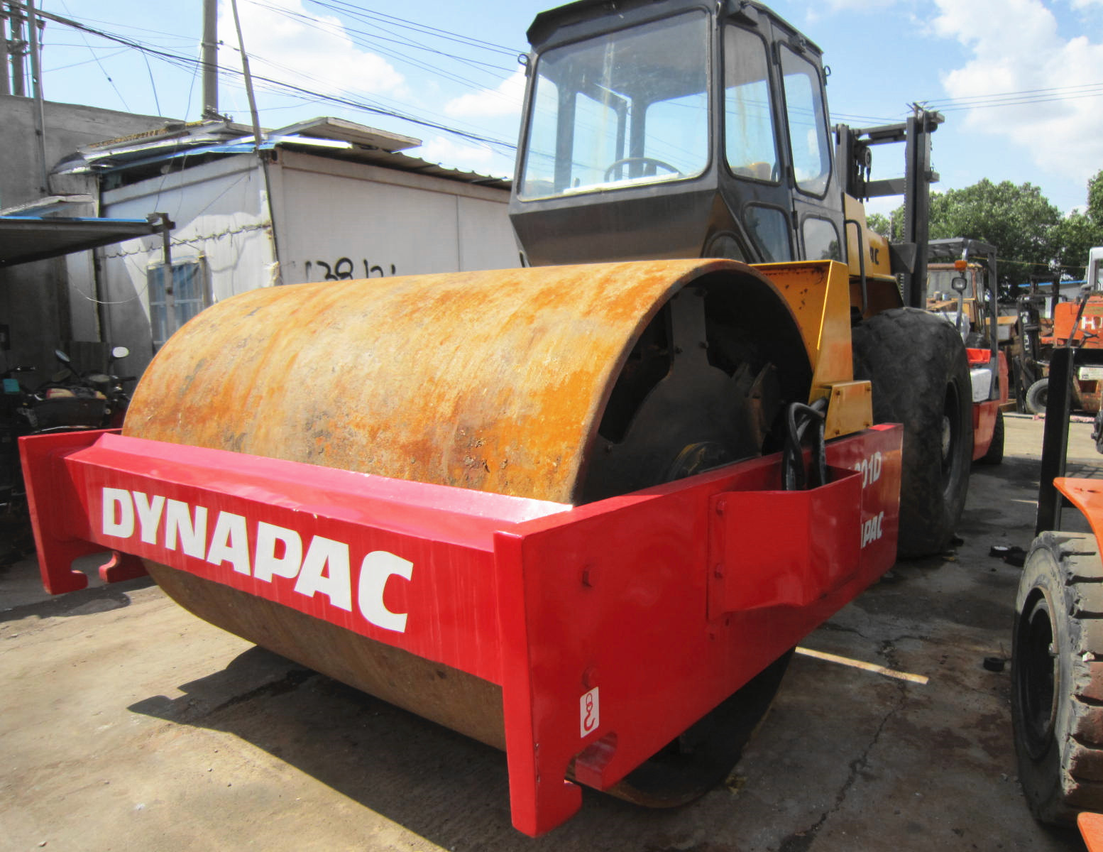 Used DYNAPAC CA301D Roller 12 Ton Compactor On Sale