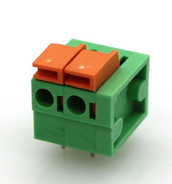 PCB Terminal Block with Pin Header Inside, UL License, RoHS Directive-Compliant
