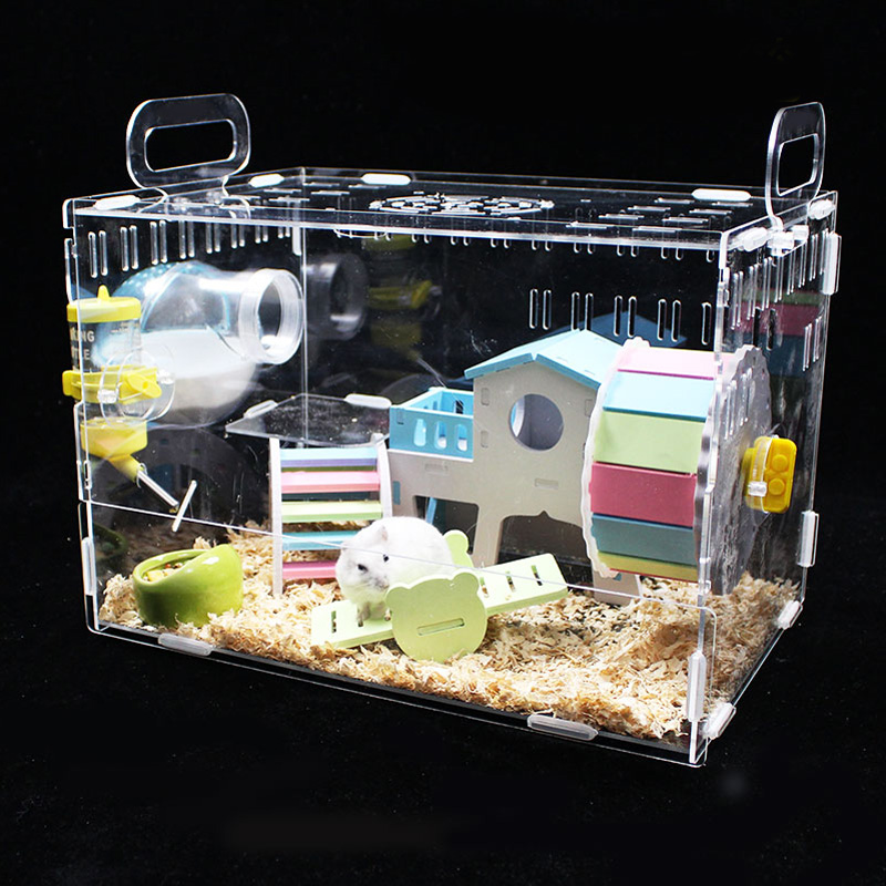 Hot Sale High Custom Luxury Acrylic Large Hamster Cage
