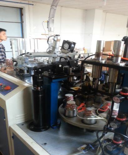Flat Bottom Paper Cup Forming Machine