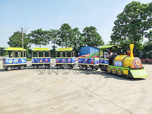 Small Electric Train, Electric Tourist Train Modern Design for Sale