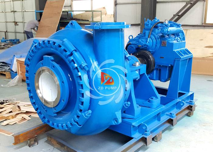 River Sand Mud Mining Diesel Engine Dredger Centrifugal Industrial Gravel Pump