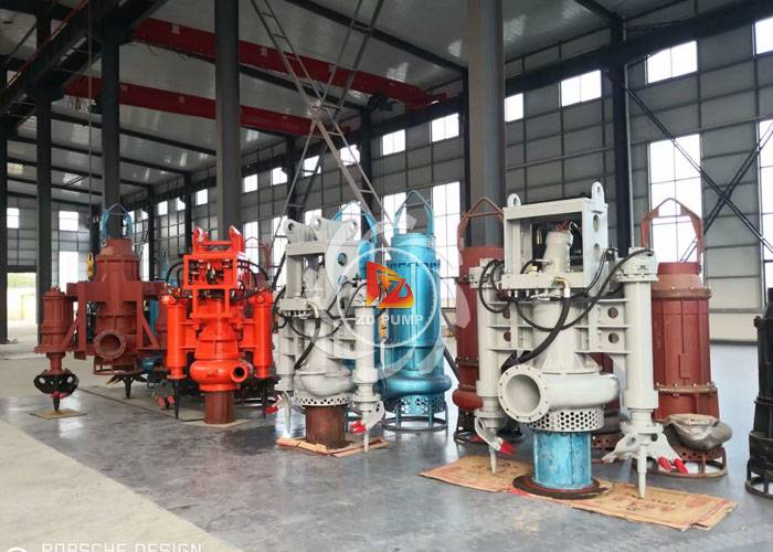 Submersible Sand Slurry Suction Dredge Pump Used in the Dredging of River, Lake
