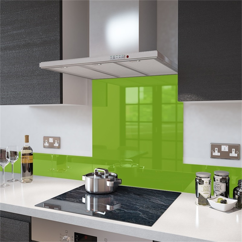 6mm Silk Screened Glass Used for Kitchen Splashback Glass