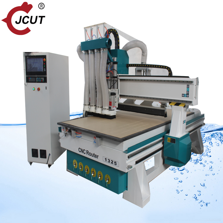 New Design Four Spindle Linear ATC Wood CNC Router Machine