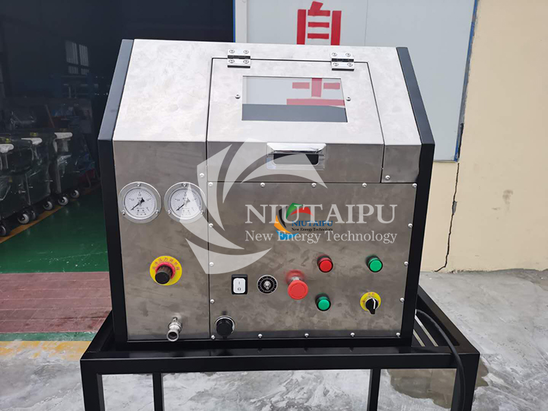 NTP-CC400 Small Automatic Dry Ice Blast Cleaning Machine Dry Ice Machine