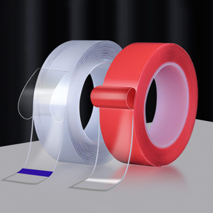 Nano Tape Double-Sided Reusable Transparent Adhesive Silicone Tape