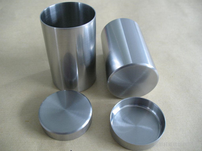 Pure Tungsten Products Liners / Crucibles Working Temperature 2500