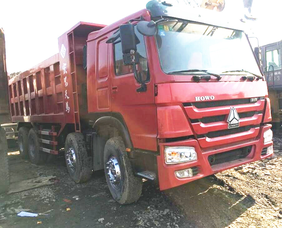 Used HOWO 380 Dump Truck on Sale