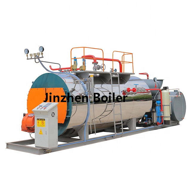 1t/h 70hp 1000kg/h WNS Series Industrial Fire Tube Horizontal Steam Boilers for Egypt Machinery Plant