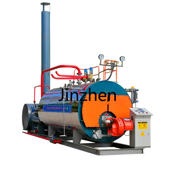 Fuel Gas, Oil, Dual Fuel Packaged Steam Boiler with European Burner