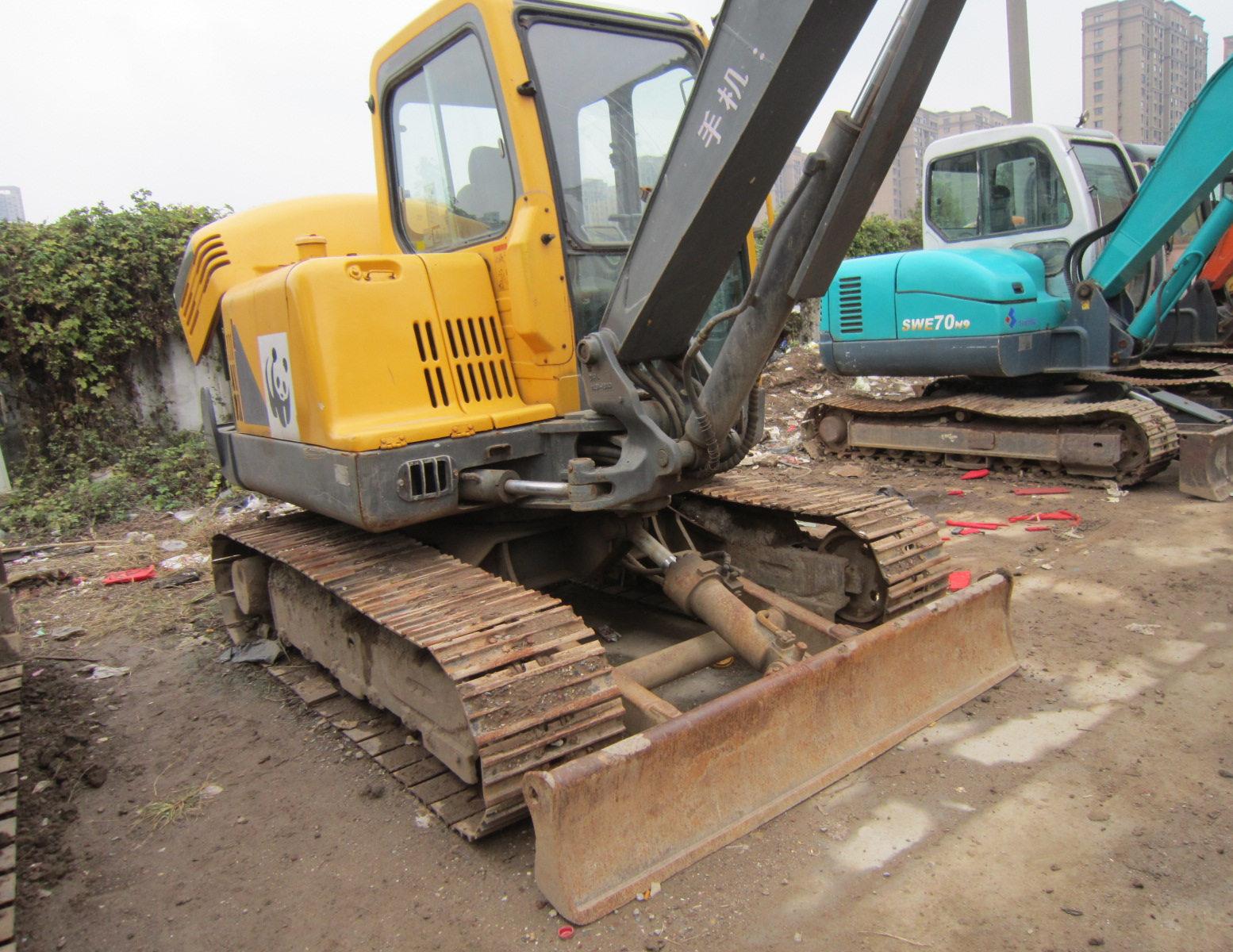 Used VOLVO EC55 5ton Excavator On Sale