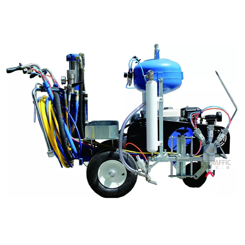 Road Marking Machine Two Component Spray Cold Plastic Paint Machine