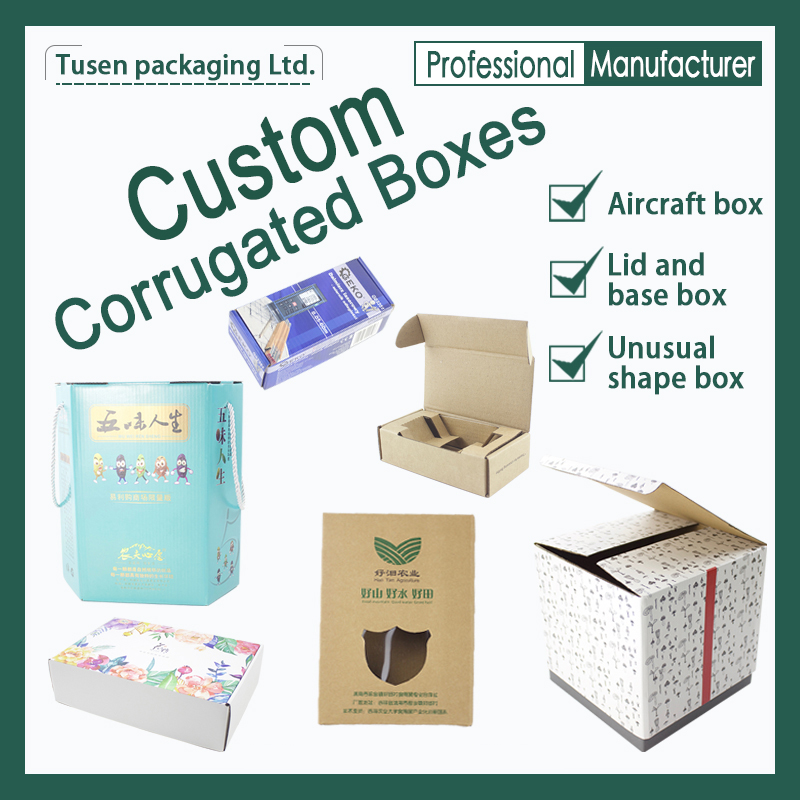 OEM Corrugated Boxes | Colorful Printed