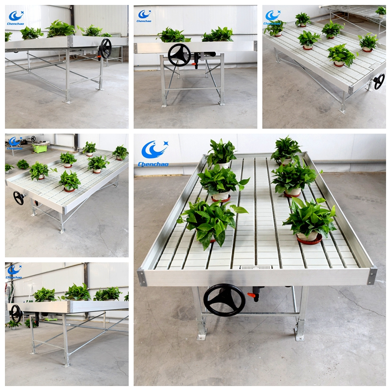 Vertical Hydroponic System Aquaponics Growing Greenhouse Grow Tray Ebb & Flow Systems for Sale