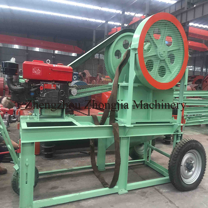 Cost Efficiency Mobile Diesel Jaw Crusher for Stones