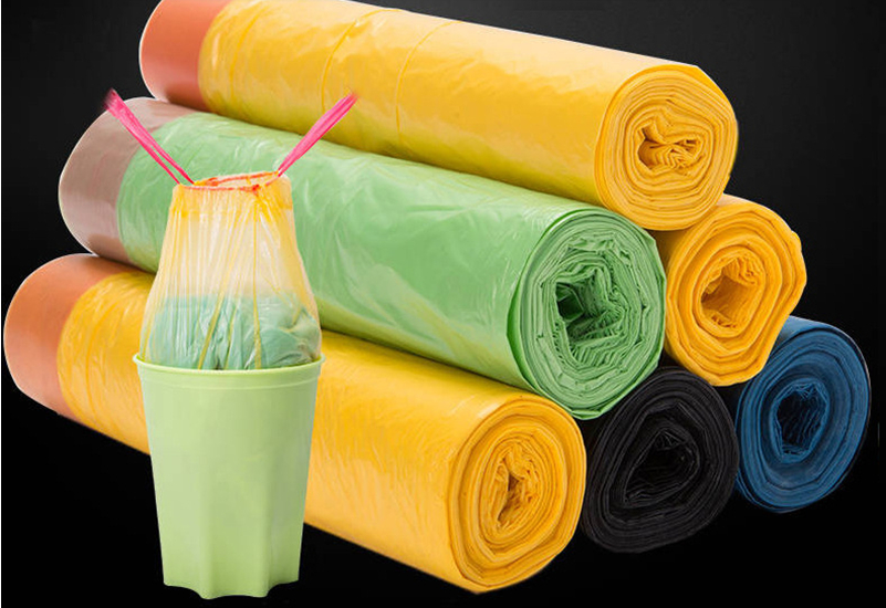 100PCS Bio-Degradable Garbage Bag Waste Food Home Kitchen Trash Bags Environmental Protection Cleaning Tools