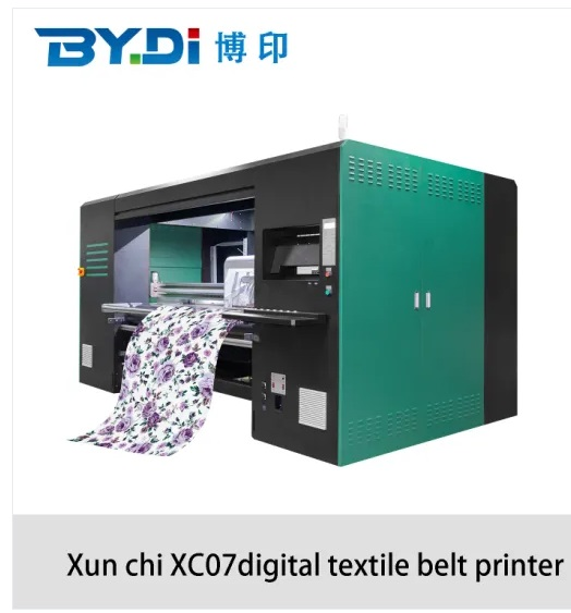 Digital Textile Inkjet Printing Machine Fwith Epson 4720 Printhead of Boyin XC07