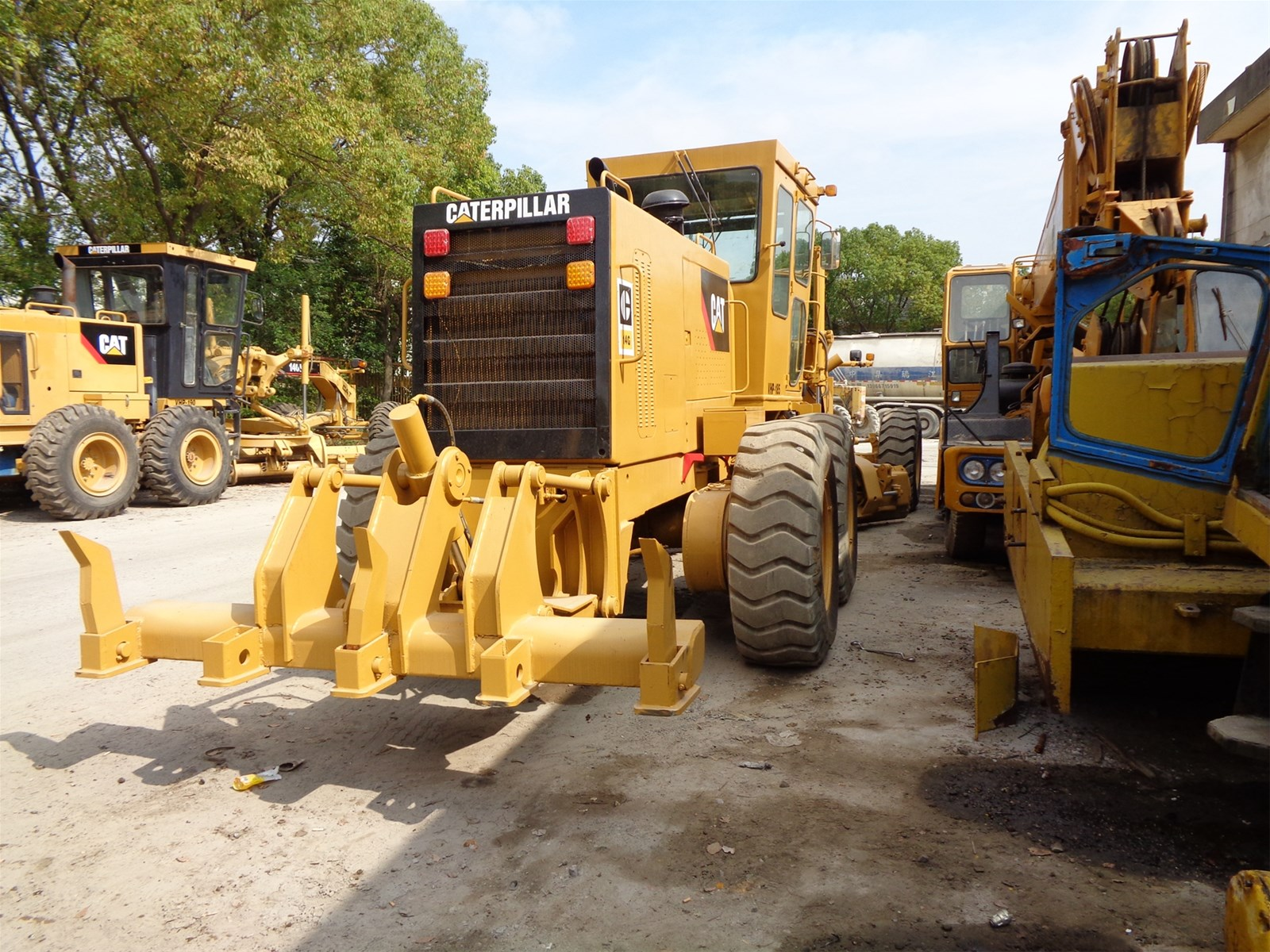Used Japan Cat 14G Used Motor Graders Second Hand Caterpillar Grader 14G/120K/140G in Hot Sale