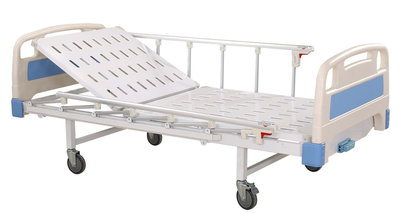 1 Function Manual Hospital Bed/Crank Bed