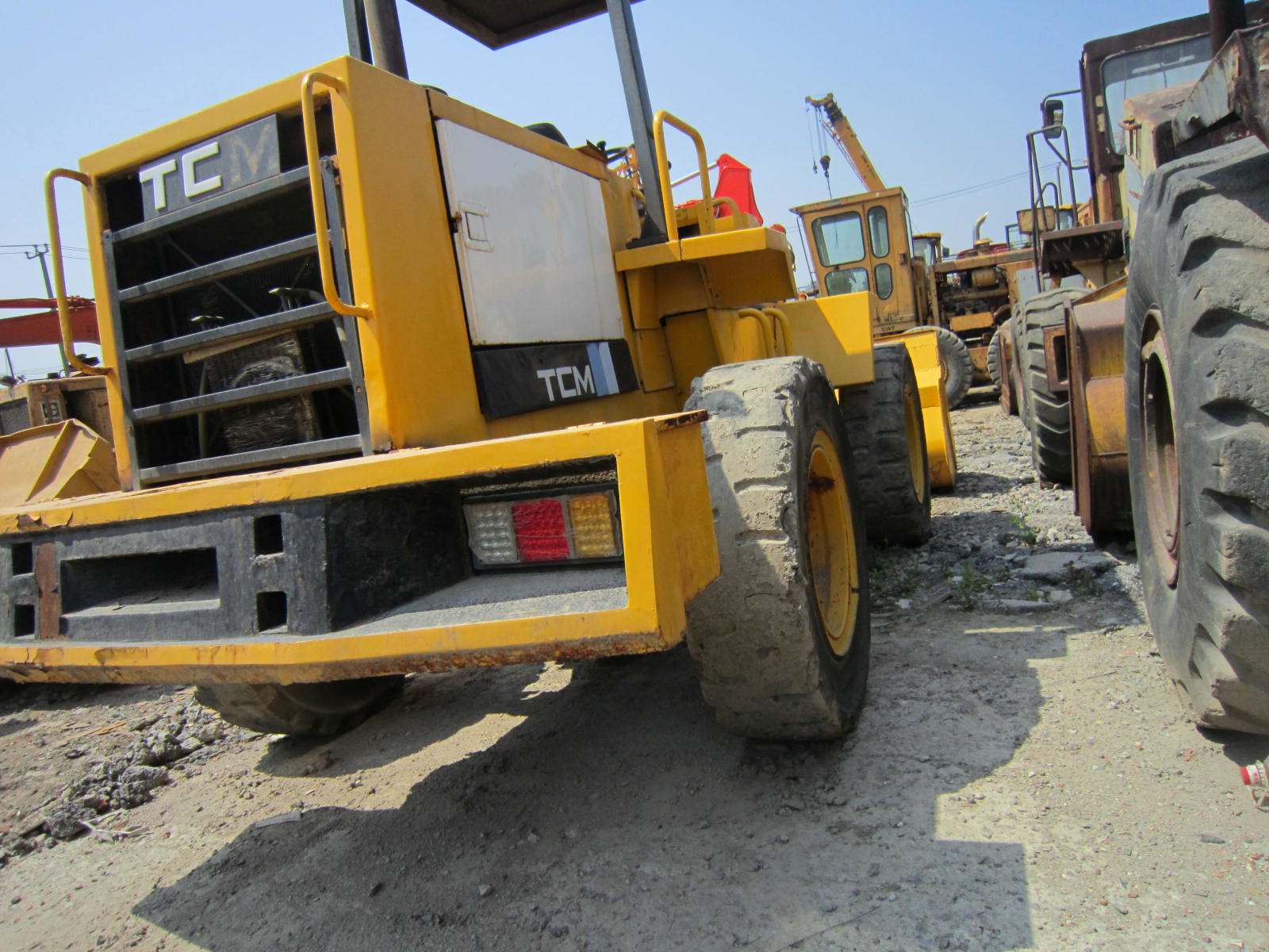 Used TCM 830 Wheel Loader in Good Condition for Sale/ Cheap Price TCM 830 Used Wheel Loader