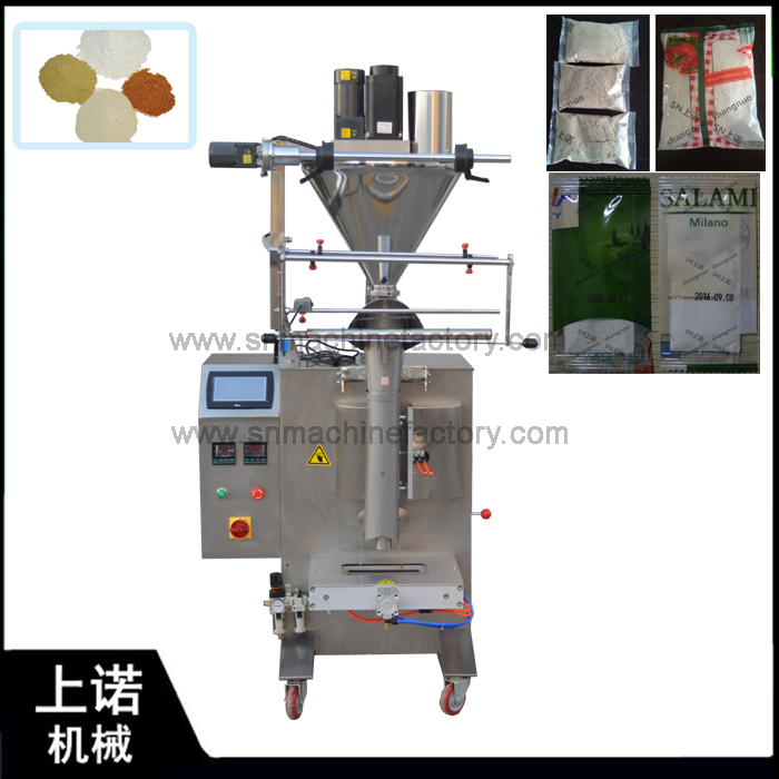 Guangzhou Factory Price High Accuracy Auger Filler for Spice Powder Filling Packing Machine