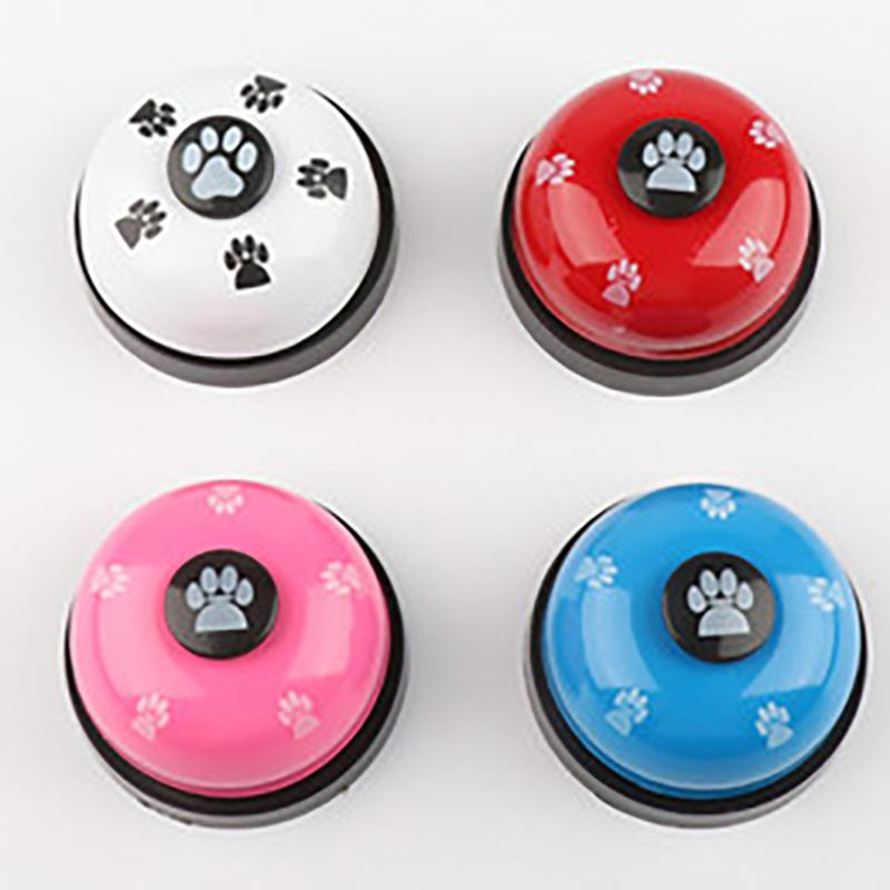 Pet Training Aids Voice Toys Pet Footprints Cat Interaction Cat Intelligence Toy Ringer Mark Ringer Meal Bell Toy