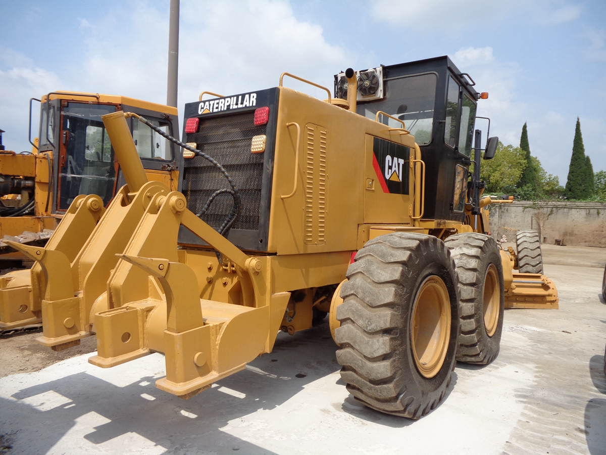100% Original Cheap & Fine Used Cat 140K 14H 14g Motor Grader for Sale