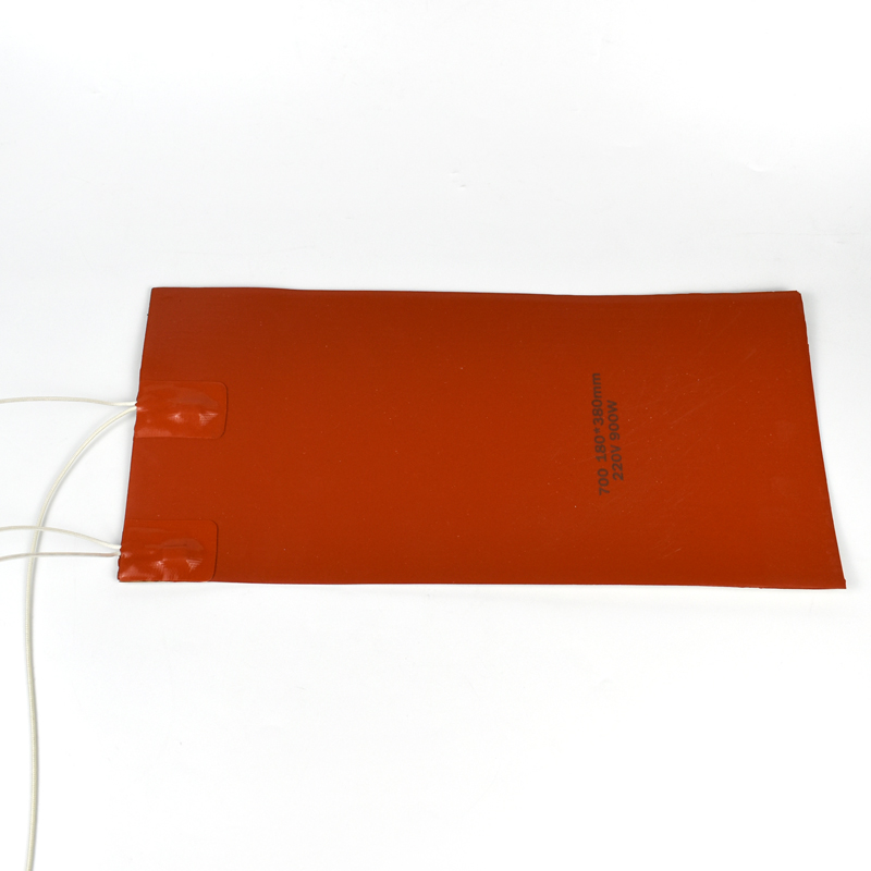 Customized Size 180*380Mm 220V 900W Silicone Rubber Heating Heater for 3D Printer Heated Bed
