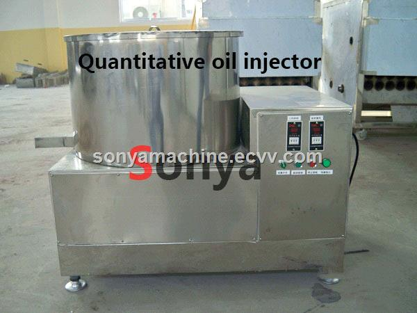 Quantitative Oil Injector/Chocolate Spray Machine/Snack Food Seasoning Machine