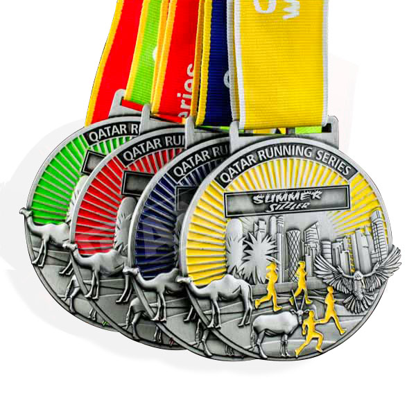 Custom Medal Die Casting Sports Medals Wholese Metal Medals