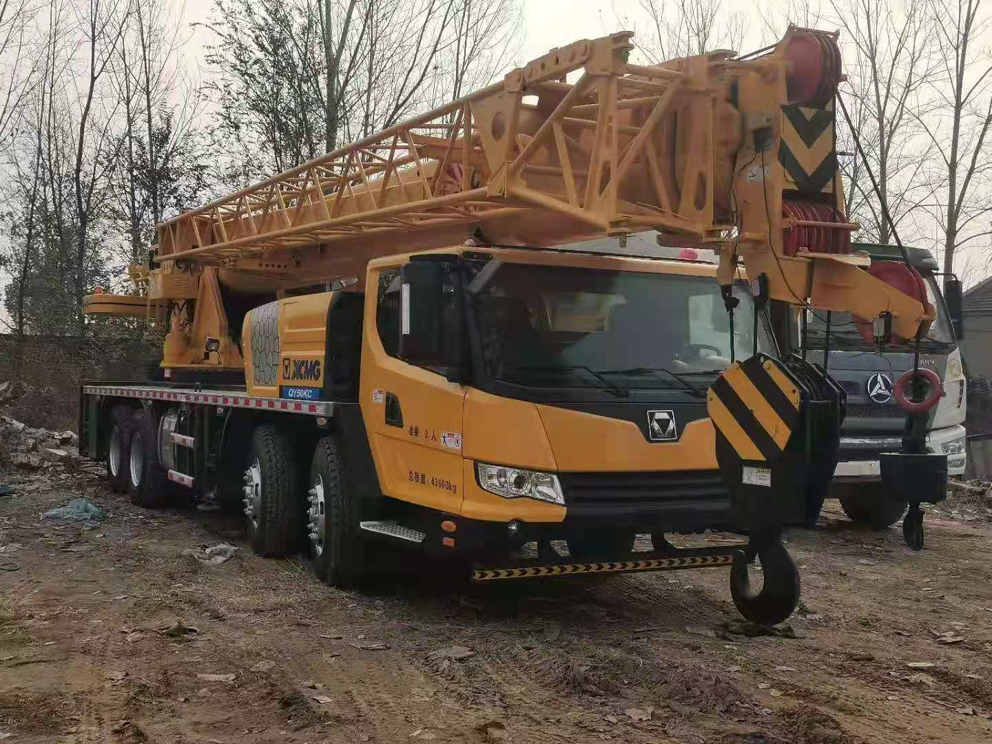Used XCMG QY50K Mobile Crane on Sale