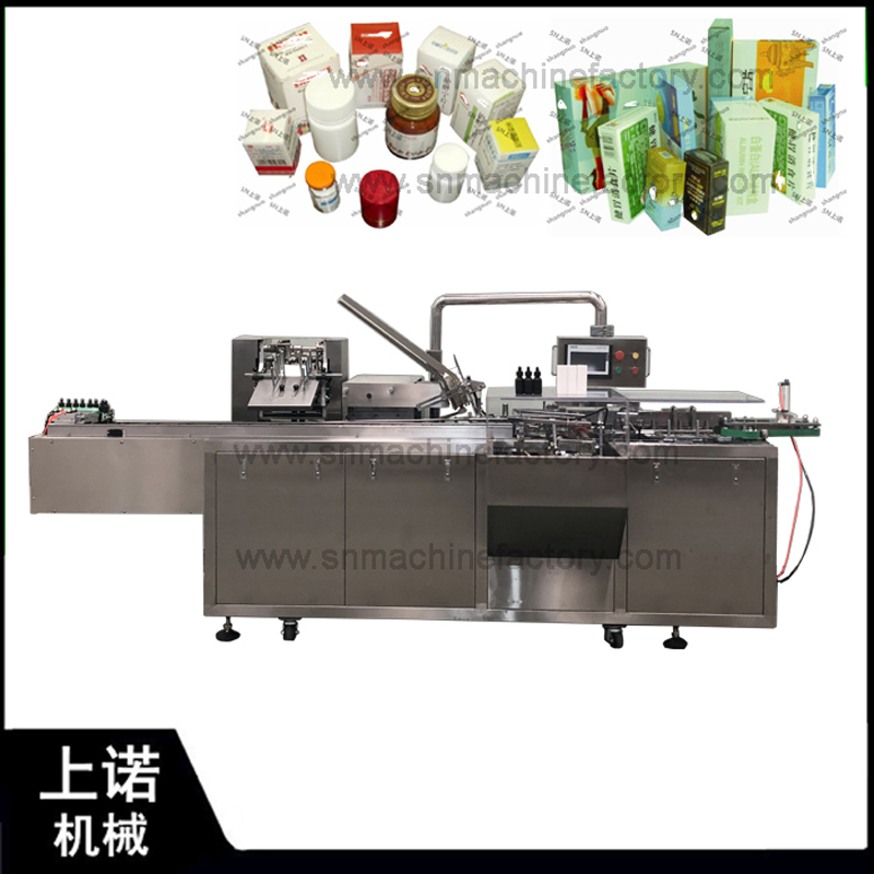 Automatic Cartoning Machine for Promotion In Shanghai