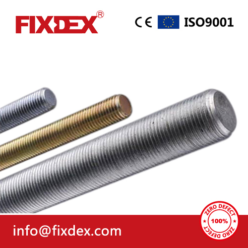 Standard DIN975 DIN976 Stainless Steel 304 316 Threaded Rod for Construction