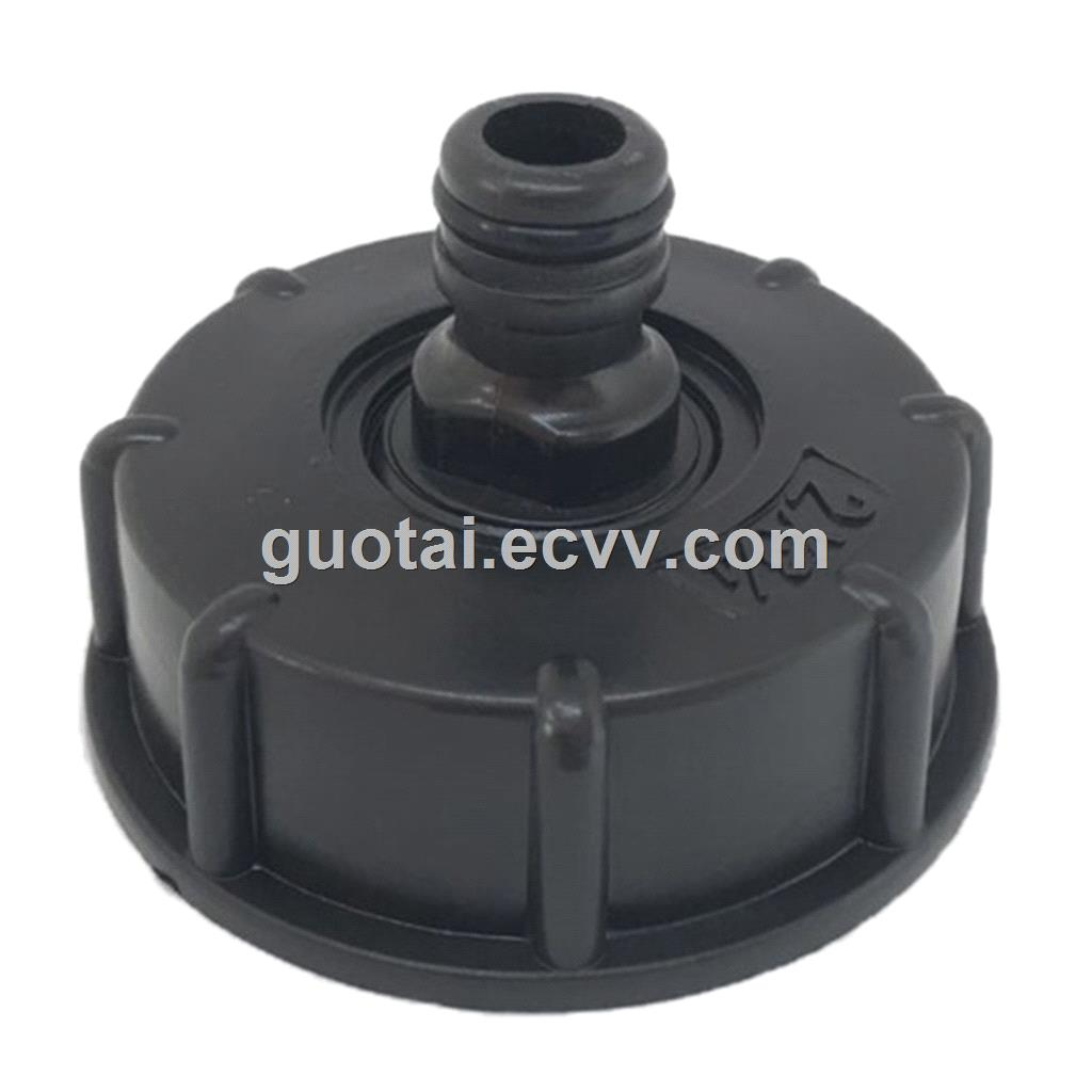 IBC Hose Adapter Reducer Connector Water Tank Fitting 2'' Standard Coarse Thread Durable Garden Hose Pipe Tap Storage