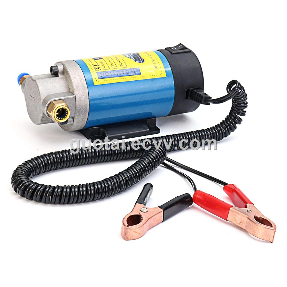 Mini DC 12V 100W Petrol Oil Fluid Extractor Pump for Transfer Engine Vacuum with Hoses Electric Siphon Syphon Pump