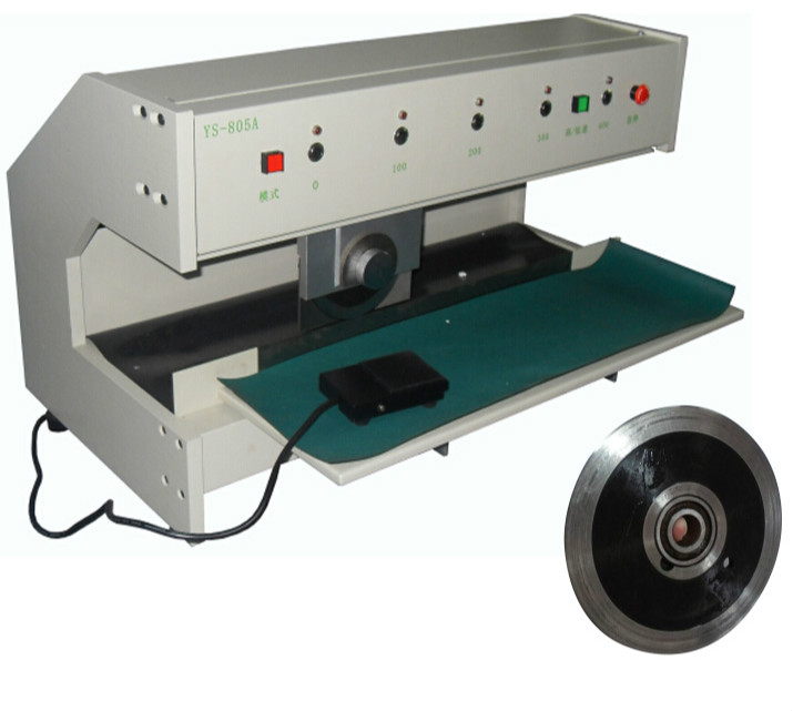 Electric PCBA Cutting Machine Round Knife Pcb Depaneling Machine