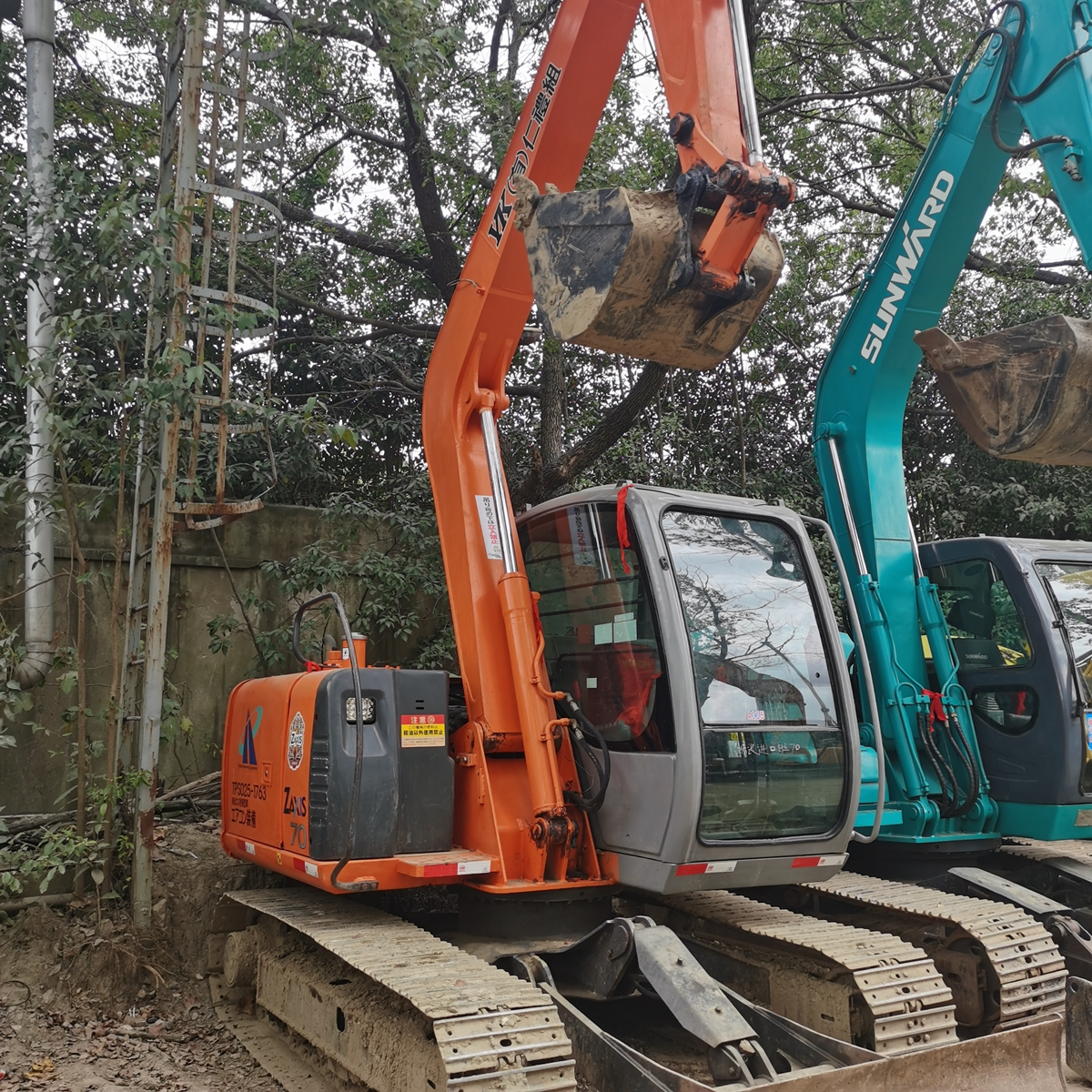 Used HITACHI ZX70 Crawler Excavator on Sale