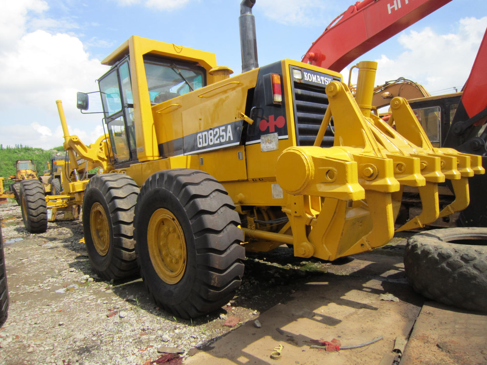 Used Original Komatsu GD825 Motor Grader In Cheap Price Sale GOOD QUALITY