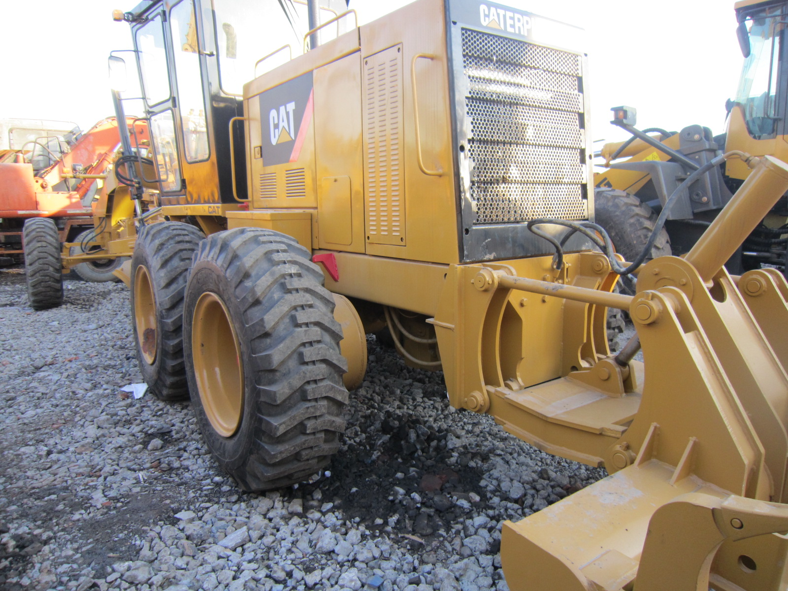 Used Construction Machine Cat 14G Motor Grader with CHEAP PRCIE