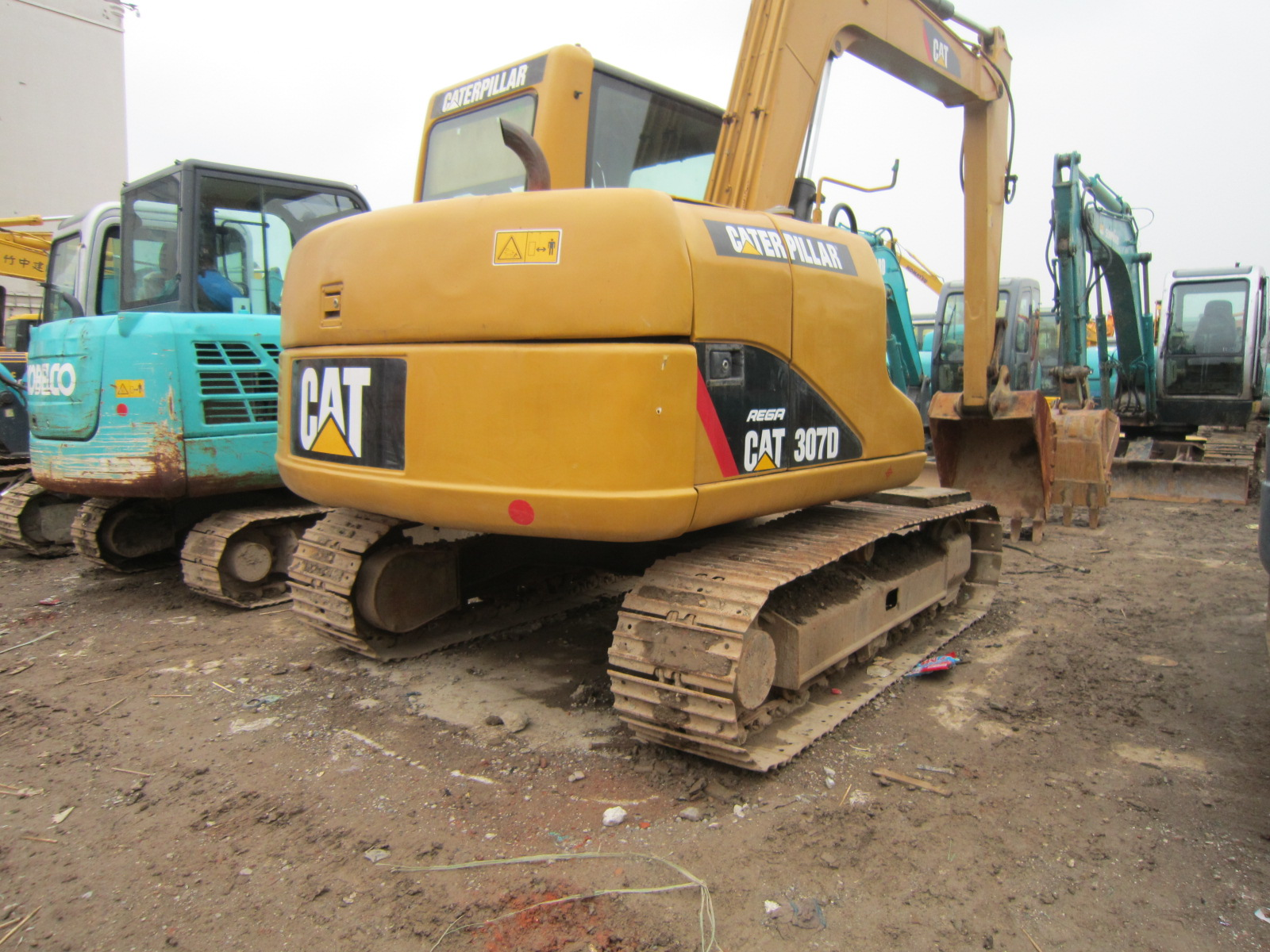 Used Caterpillar 307 Excavator, Used Cat 307 308 Excavator with Thumb Bucket for Sale