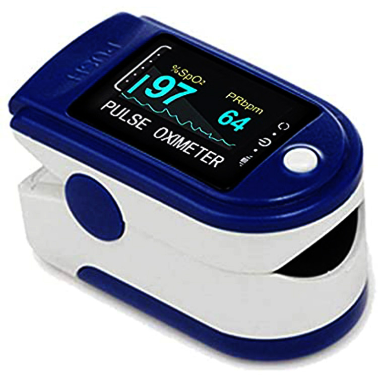 Fingetip Pulse Oximeter Blood Oxygen Saturation Monitor SpO2 with Pulse Rate & Pulse Bar Graph Oled Screen