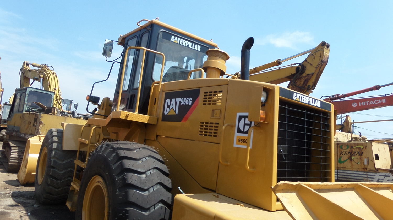 Used Loader Caterpillar 950G/ 962H/ 950E/ 966G Used Cheap CATERPILLAR CAT 950G Wheel Loader with Good Condition