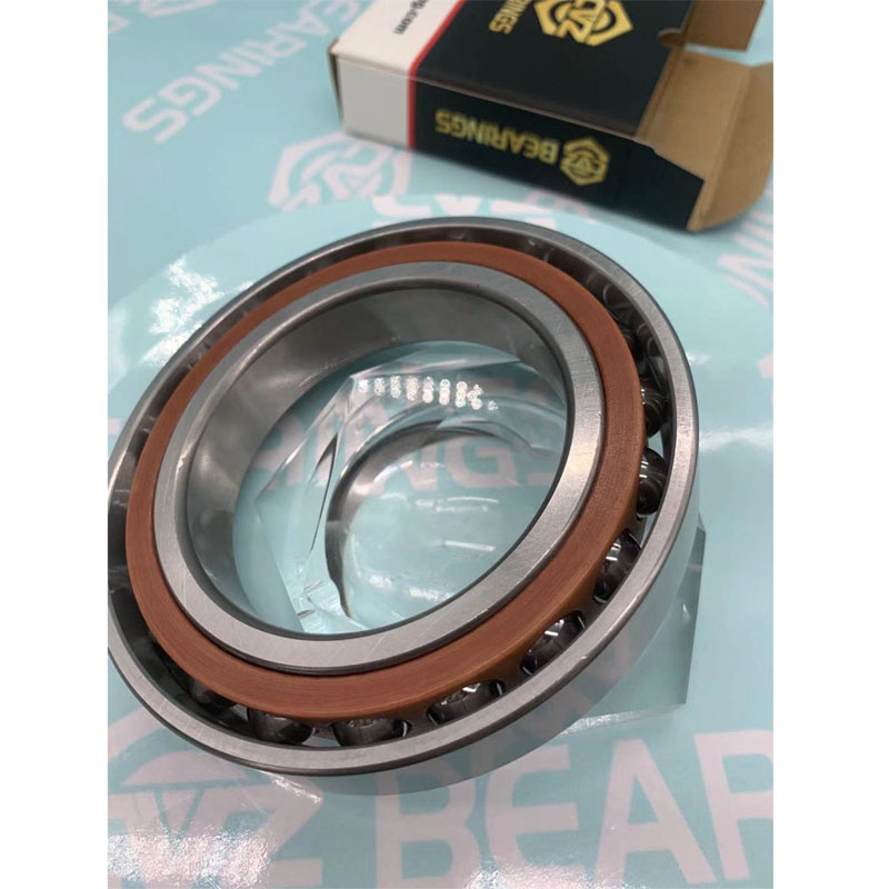 Single Row Angular Contact Ball Bearing for High Speed Auto Parts/Machine Tool Spindle/CNC Machine/Motor Bearing