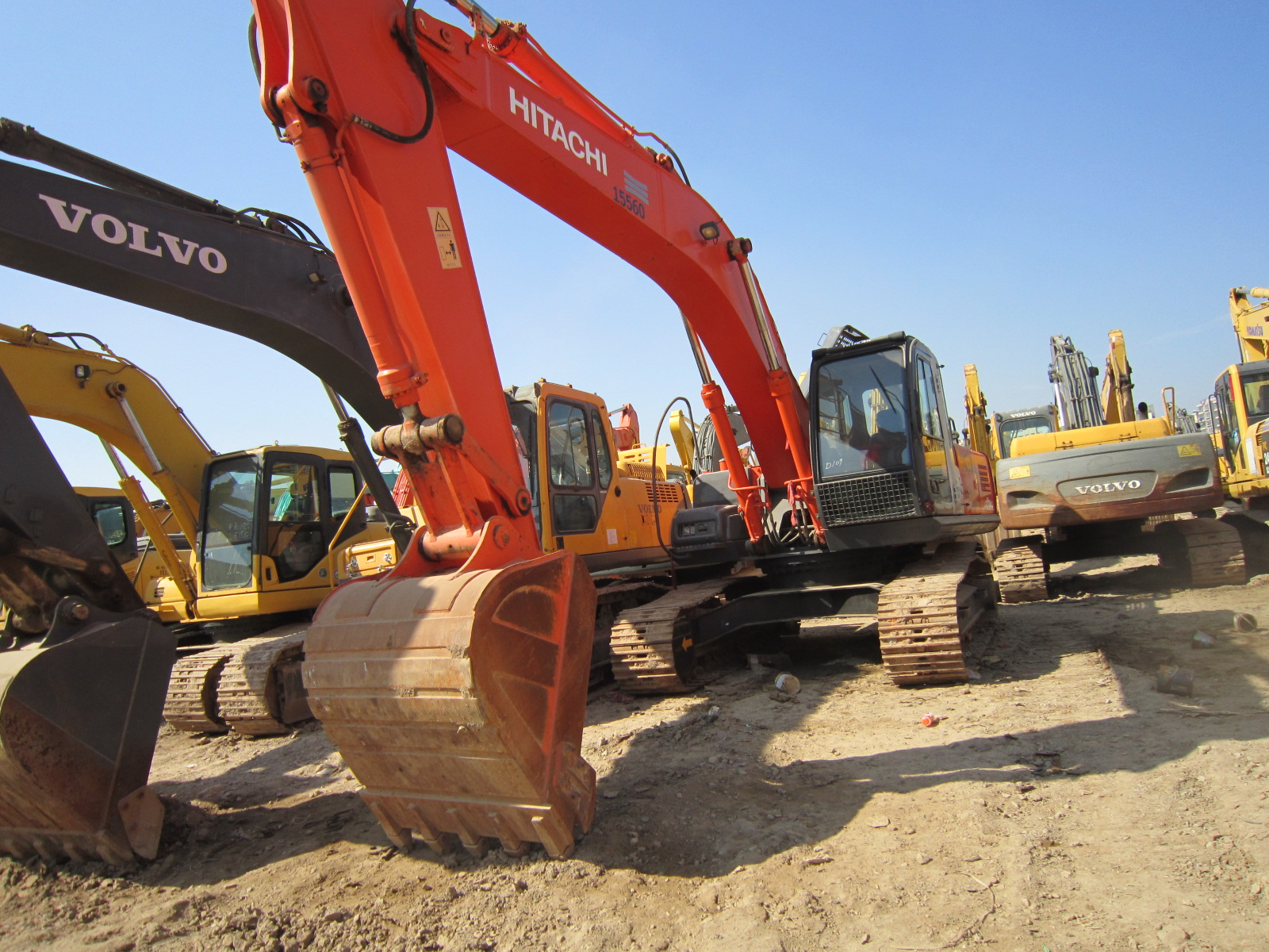 HITACHI ZX240-3G 24Ton Japan Made Hitachi ZAXIS 240 ZX240 Used Excavator for Sale