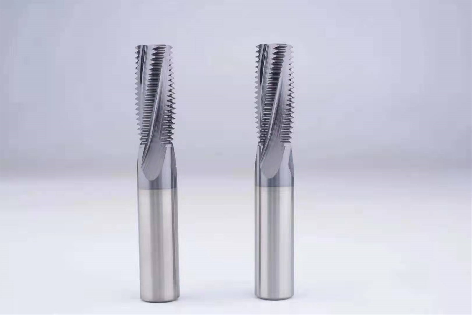 Carbide Thread End Mills 4F-M3 M4 M5 M6 M8 M10 M12 M14 Thread Mills, Milling Cutter with TIALN Coat