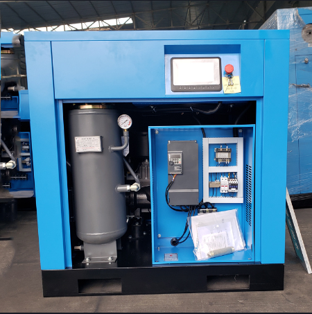 Textile 110kw Permanent Magnet PM VSD Screw Air Compressor for Sale