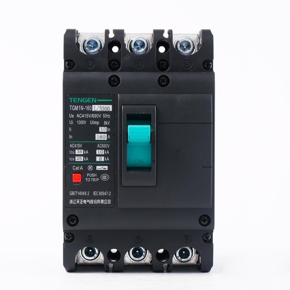 ECVV Moulded Case Circuit Breaker Frame 160 A